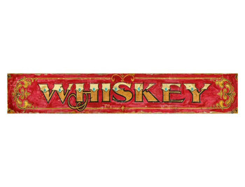 Custom Whiskey Vintage Style Wooden Sign
