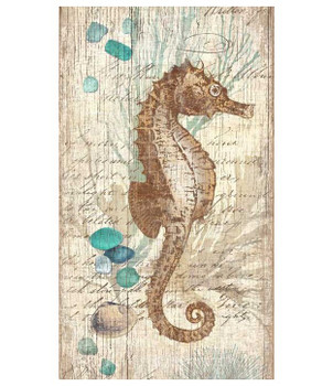 Classic Seahorse Vintage Style Wooden Sign