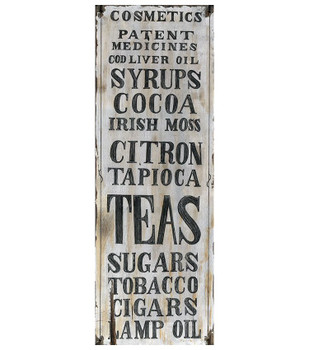 Custom Assorted Patent Medicines Vintage Style Wooden Sign