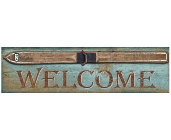 Custom Vintage Ski Killington Welcome Vintage Style Wooden Sign