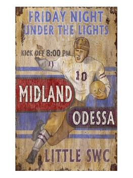 Custom SE Football Vintage Style Wooden Sign