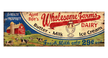Custom Aunt Bea Vintage Style Wooden Sign