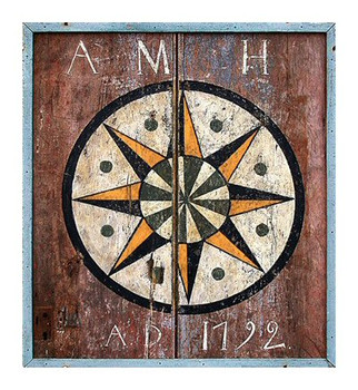 Custom Barn AD 1792 Vintage Style Wooden Sign