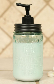 Pint Mason Jar Soap Lotion Dispenser