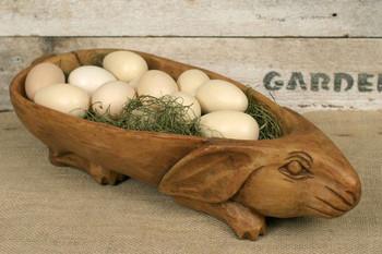 Treen Reproduction Rabbit Bowl