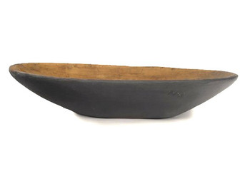 Treen Reproduction Nonie's Black Bowl