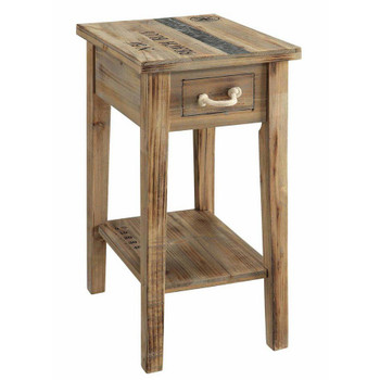 Grand Isle Chairside N 50 Beach Blue Wood End Table