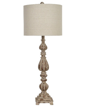 "35"" Slender Avian Table Lamp"