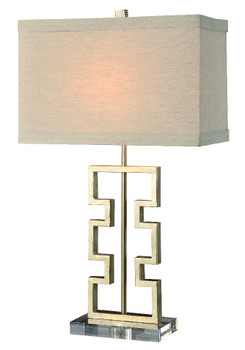 "27"" Azteca Table Lamp"