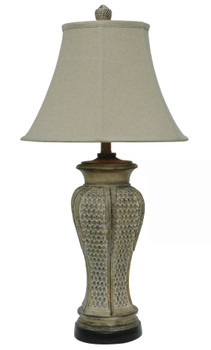 Pineapple Leaf Table Lamp