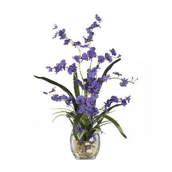 Dancing Lady Orchid Liquid Illusion Silk - Purple