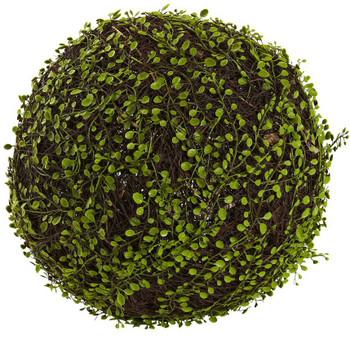 "15"" Dia Muehlenbeckia Ball Silk Plant"