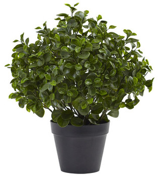 "23"" Peperomia Plant UV Resistant Silk Plant, Indoor Outdoor"