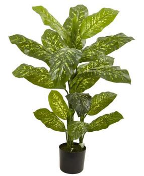 4' Dieffenbachia Real Touch Silk Plant