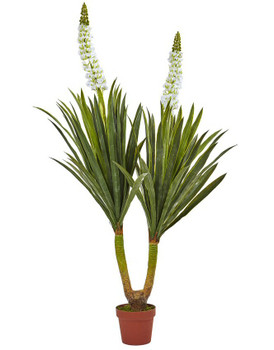 "57"" Flowering Yucca Silk Plant"