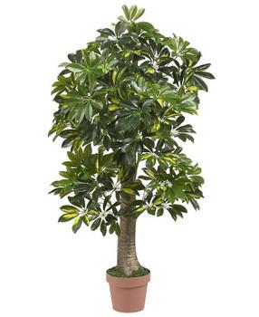 4' Schefflera Silk Tree (Real Touch)
