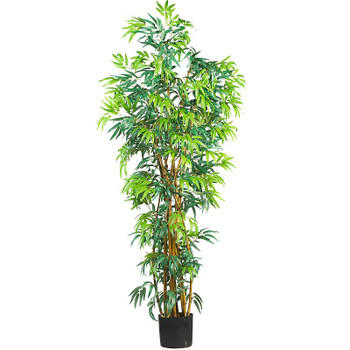 6' Fancy Style Bamboo Silk Tree