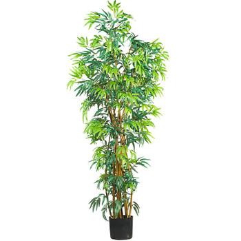 6' Fancy Style Bamboo Silk Tree