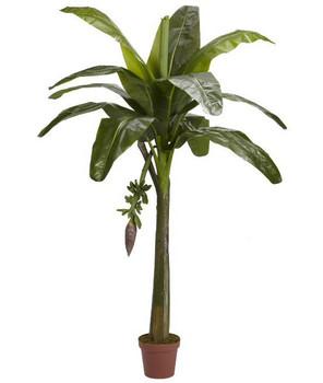 6' Banana Real Touch Silk Tree
