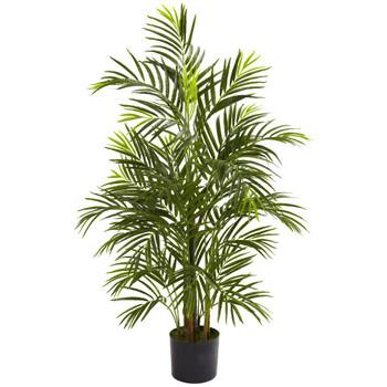 3.5' Silk Areca Palm UV Resistant Indoor Outdoor