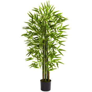 4' Silk Bamboo Tree UV Resistant Indoor Outdoor