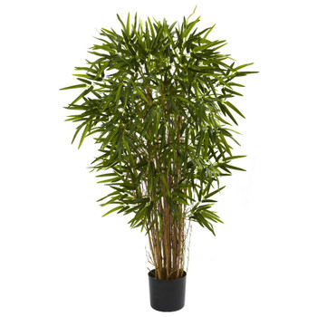 4' Silk Twiggy Bamboo Tree