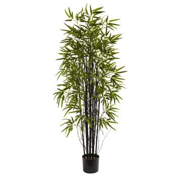 5' Silk Black Bamboo Tree