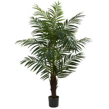 5' Silk Areca Palm Tree
