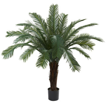 5' Silk Cycas Tree UV Resistant Indoor Outdoor