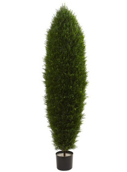 5' Cypress Silk Tree UV Resistant, Indoor Outdoor