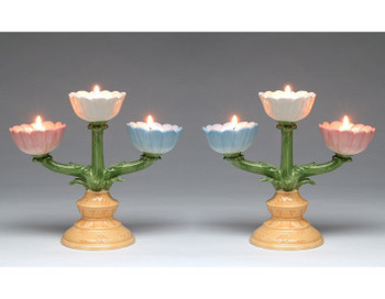Tea Lights Candelabra, Set of 2