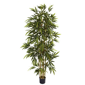 6' Silk Bamboo Tree