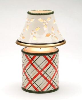 Holly Candle Jar Shade and Base