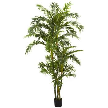 6' Curvy Parlor Silk Palm Tree