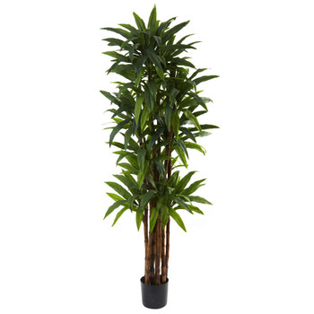 6.5' Silk Dracaena Tree