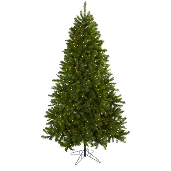 7.5' Windermere Artificial Christmas Tree with Clear Lights