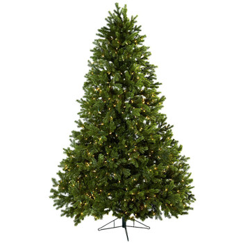 7.5' Royal Grand Artificial Christmas Tree with Clear Lights