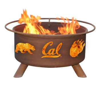 University of California Berkeley CAL Golden Bears Metal Fire Pit