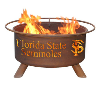 Florida State University Seminoles Metal Fire Pit