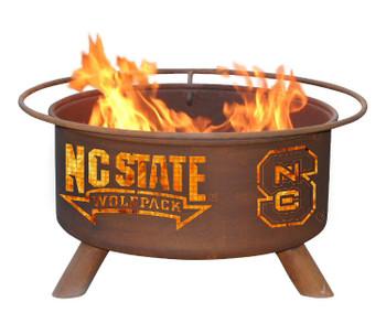North Carolina State University Wolfpack Metal Fire Pit