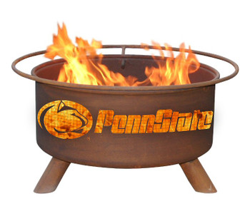 PSU Penn State University Nittany Lions Metal Fire Pit