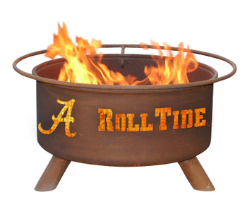 University of Alabama Crimson Tide Metal Fire Pit
