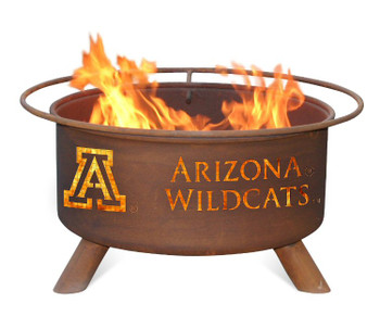 University of Arizona Wildcats Metal Fire Pit