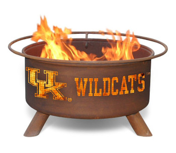 University of Kentucky Wildcats Metal Fire Pit