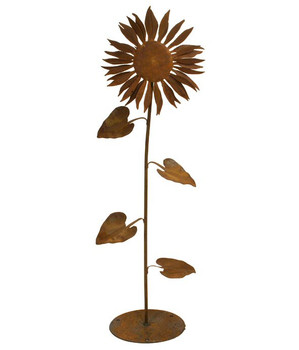 Sunflower Metal Outdoor Garden Sculpture