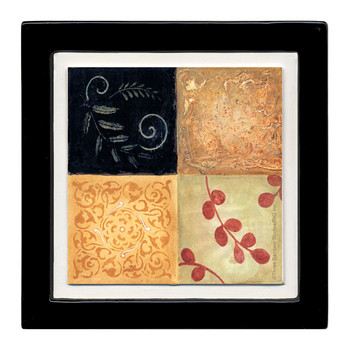 Mod Squares I Beverage Coasters, Set of 8