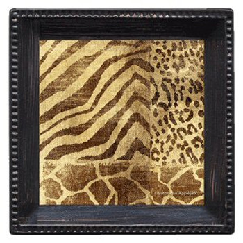 Jungle Tropics Absorbent Beverage Coasters by Veronique, Set of 12