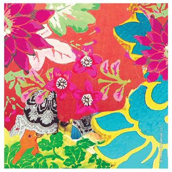 Floral Pattern Beverage Coasters by Poetic Wanderlust, Set of 12