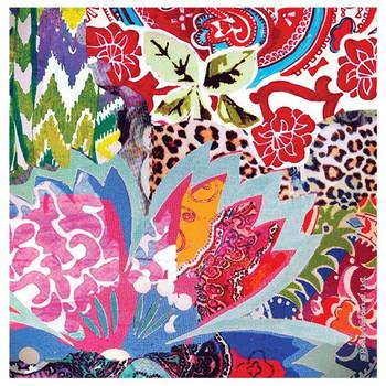 Leopard Floral Beverage Coasters by Poetic Wanderlust, Set of 12