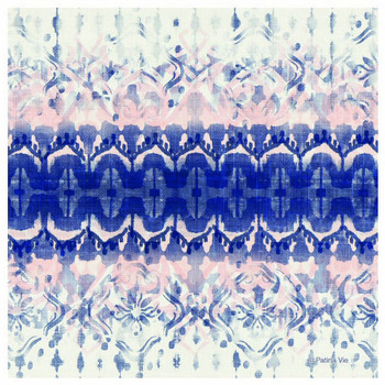 Cobalt Indigo Absorbent Beverage Coasters, Set of 12